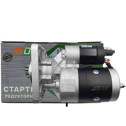 Стартер редукторний ЮМЗ  JFD 12В 3,2 кВт арт. 1232032 (аналог Jubana 123708032), фото 2