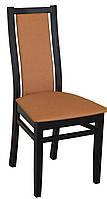 Деревянный мягкий стул для кухни, кафе, офиса, отеля. Зелений/синій/оливковий/жовтий. МГ-090