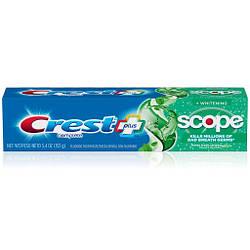Зубная паста Crest + Scope Complete Whitening Toothpaste 153 г