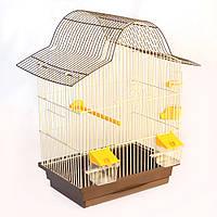 Клітка для папуги Капучино (330х230х495)мм, пофарбована