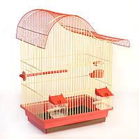 Клітка для папуги Ред вейв (330х230х490)мм, пофарбована