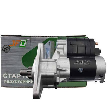 Стартер редукторний МТЗ Т40 Т25 JFD 12В 3,5 кВт арт.1235101 , фото 2