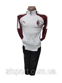 Подростковый футбольный спортивный костюм Puma FC Milan (ФК Милан)