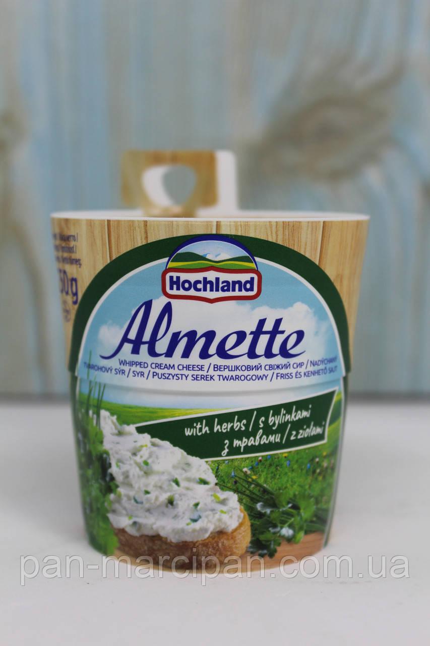 Сир творожний Almette z ziolami 150 г