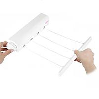 Автоматическая бельевая веревка вытяжная настенная сушилка для белья LVD 4x3.2 м
