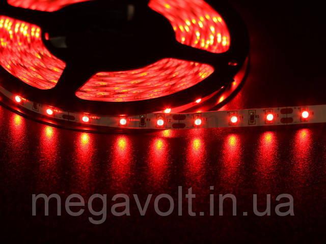 LED лента красная герметичная 2835/60 (IP65) 12V RED