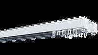 Карниз потолочный алюминиевый усиленный двухрядный, ДЕКО-2