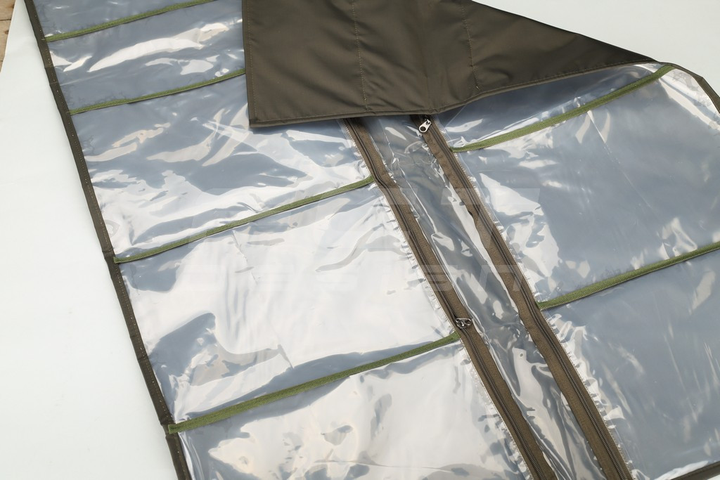 Несессер армейский  хозпакет  ткань олива 10 карманов