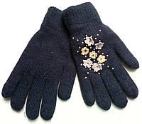 Перчатки вязанные женские