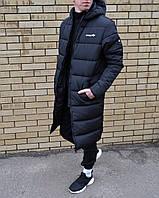 Зимняя длинная куртка парка Adidas