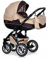 Детская коляска универсальная 2 в 1 Riko Brano 04 mocca (Рико Брано, Польша)