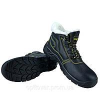 Рабочие ботинки с мехом Польша с металлическим носком,класса защиты BRYES-TO-SB товар сертифицирован