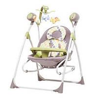 Колиска-гойдалка CARRELLO Nanny 3в1 CRL-0005 Green Tree |1| MOQ