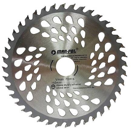 Пильный диск 150мм * 24Т * 22.2 Marpol, фото 2