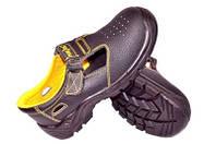 Сандалии с металлическим носком кожаные, высокого класса защиты BRYES-S-SB товар сертифицирован