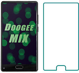 Защитное стекло Doogee Mix (Прозрачное 2.5 D 9H) (Дуги Микс)