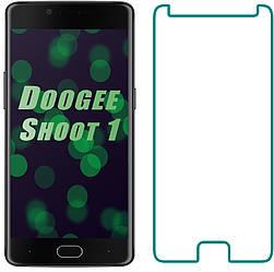Защитное стекло Doogee Shoot 1 (Прозрачное 2.5 D 9H) (Дуги Шот Шут 1)