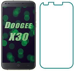 Защитное стекло Doogee X30 (Прозрачное 2.5 D 9H) (Дуги Икс Х30)