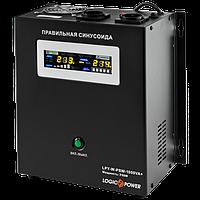 Джерело безперебійного живлення LogicPower LPY-W-PSW-1000VA+ (700W) 10A/20A 12V