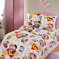 Комплекты постельного белья детский, полуторный,  бязь ГОСТ