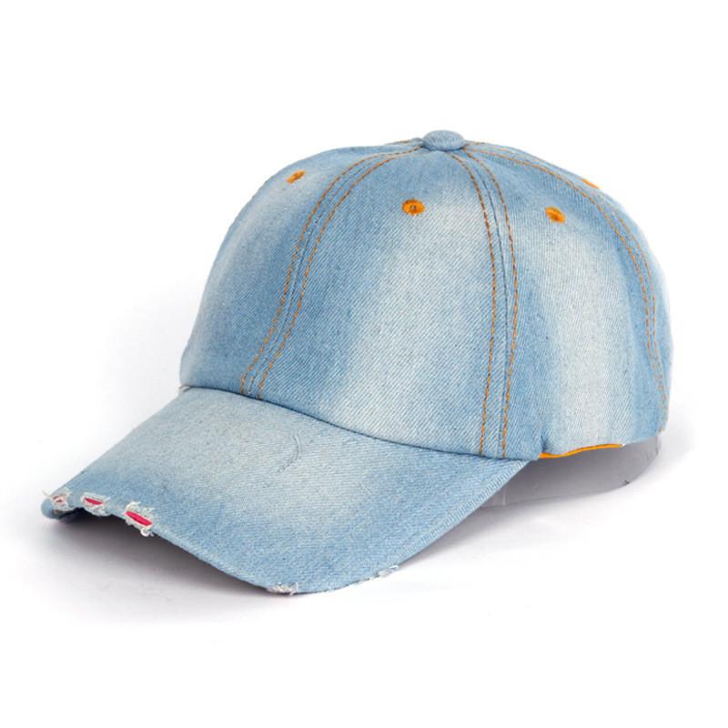Джинсова бейсболка модна кепка