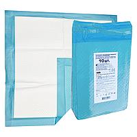 Пеленки одноразовые впитывающие GM 60Х60см 10 шт. Медицинские нестерильные