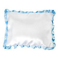 Подушка сувенирная атласная с цветной окантовкой и без окантовки. Фото на подушках.