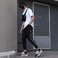 """Мужские штаны карго """"FUJIN"""" чёрные, фото 1"""