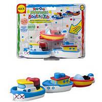 Игровой набор для ванной Магнитные лодочки Alex 823W