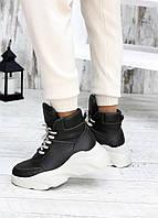 Кожаные женские кроссовки,белые кроссовки ,женские стильные кроссовки,кожаные кроссовки,зимние женские ботинки