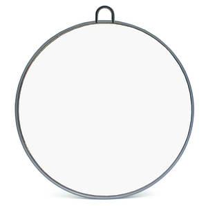 Дзеркало заднього виду з ручкою, кругле SPL 21140 сіре