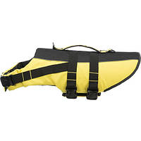 Спасательный жилет Trixie, для собак, 28 см, желтый/черный