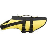 Спасательный жилет Trixie, для собак, 35 см, желтый/черный
