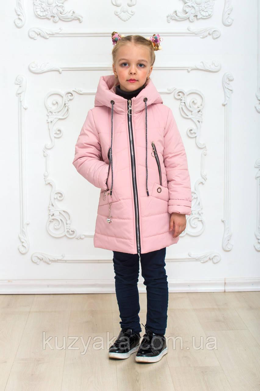 Детская демисезонная куртка Анжелика на рост 116-146 см