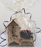 Подарочный набор Чайный домик с чашкой-хамелеон