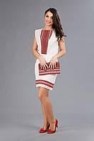 Костюм женский с украинской вышивкой, размер 44