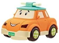 Машинка инерционная с вращением на 360 градусов NUKIED - Такси, Фитч, со светом и звуком