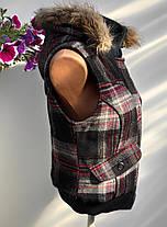 Безрукавка жіноча осінь – зима Розмір М ( В-156), фото 3