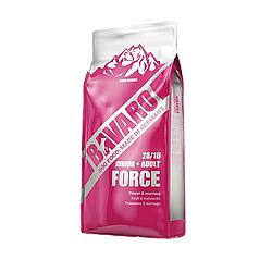 Корм Bavaro Force Junior+Adult Баваро Форс для цуценят і собак з сильними фізичними навантаженням 18