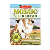 """Мозаїчні наліпки """"Сафарі"""" Melissa&Doug (MD30160)"""