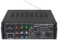 Интегральный усилитель UKC PA-329BT Bluetooth с караоке (5721)