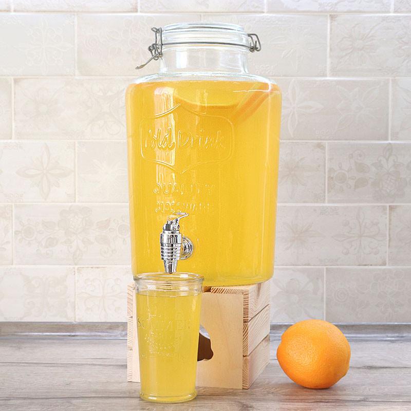 Диспенсер с краником Glassline Cold Drink 7.6 л