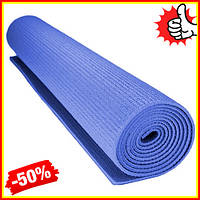Коврик для фитнеса и йоги Power System Fitness-Yoga Гимнастический каремат