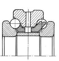 Подшипник 234417 (ГОСТ: 2-178817), 23-ГПЗ (Россия), 85x130x54, шариковый радиально-упорный двухрядный