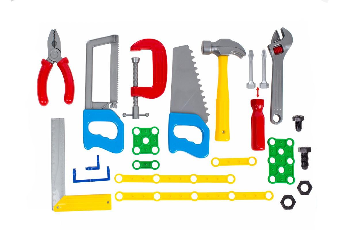 Іграшка ТехноК Набір інструментів в чемодані 4388