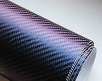 Карбоновая пленка хамелеон фиолетовая.