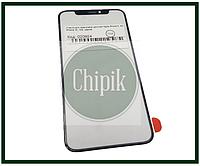 Стекло для переклейки дисплея Apple iPhone X, XS, iPhone 10, 10S, черное