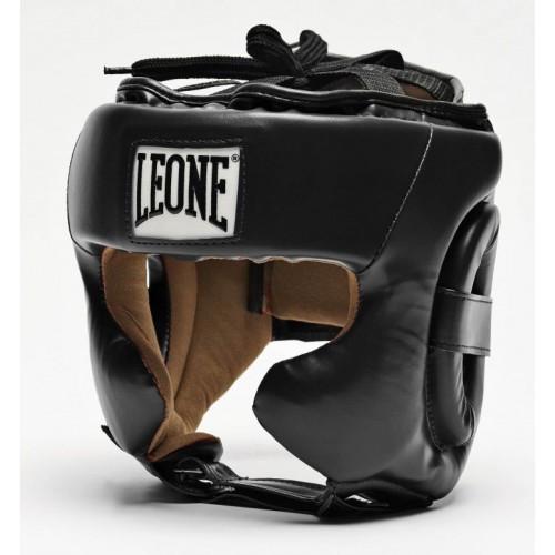 Боксерський шолом Leone Training M Black