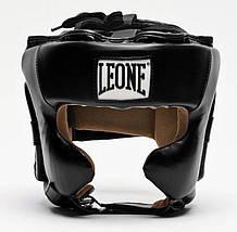 Боксерський шолом Leone Training M Black, фото 3