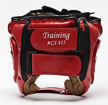 Боксерский шлем Leone Training Red L, фото 2